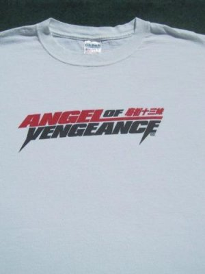 ANGEL OF VENGEANCE chinese action film XL promo T-SHIRT