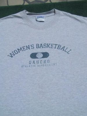 UCSB WOMEN'S BASKETBALL gauchos MEDIUM T-SHIRT