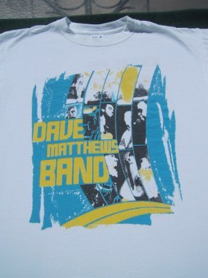 DAVE MATTHEWS BAND 2006 tour LARGE concert T-SHIRT