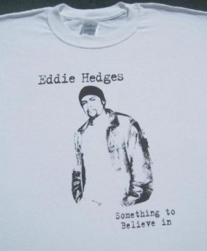 EDDIE HEDGES christian R&B folk artist XL T-SHIRT