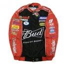 Budweiser Nascar Car BLACK Jacket
