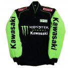 Kawasaki Monster Green Motorcycle JACKET