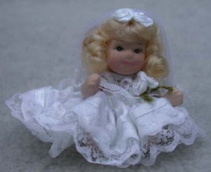 First Communion Porcelain Doll Show-stoppers Blond