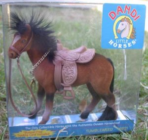 Horse Rich Brown Dandi Little Horses - Tumbleweed