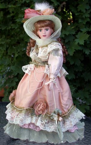 """Porcelain Doll """" Anastasia Collection""""  Camille"""