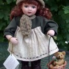 "Porcelain Doll ""Sweetheart Collection""  Amber"