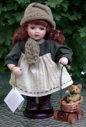 """Porcelain Doll """"Sweetheart Collection""""  Amber"""