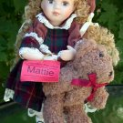 Show-stoppers Porcelain Doll  Mattie