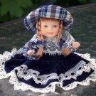Doll - Blue velvet