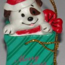 Christmas Ornament  Dog