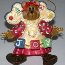 Christmas Ornament  Bear Joy