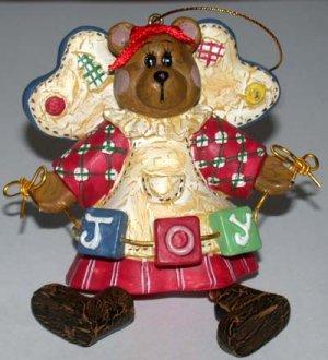 Christmas Ornament  Bear Joy