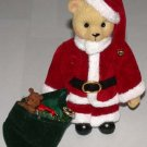 "Christmas Bear Santa 5 1/4"" Tall"