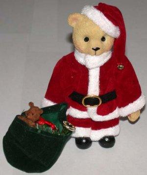 "Christmas Bear Santa 5 1/4"" Tall"