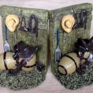 Bookend Old West Western Theme 5 1/2""