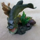 Bass Among Branches Figurine