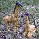 """Giraffe Figurine Pair 6"""""""