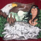 Eagle, Native and Running Wolves