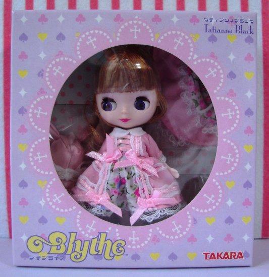 Petite Blythe Tatianna Black Takara Japan