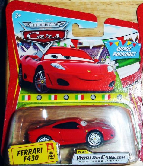 Disney Pixar Cars Chase Package Ferrari F430