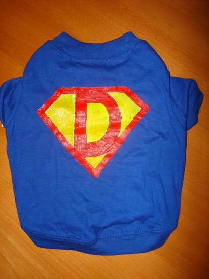 SuperDog handmade shirt