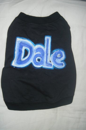 personalized doggie tee