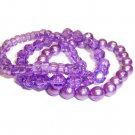 Funky Purple Bracelets