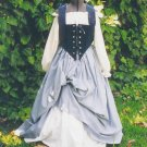 Renaissance LARP Wench Skirt Bodice Set Pirate Outfit Faire