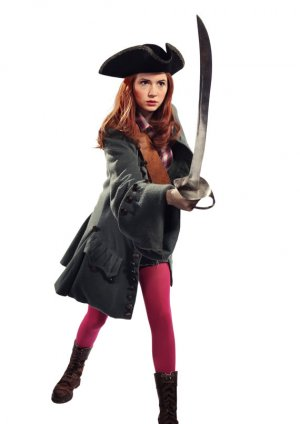 Doctor Who Amy Pond Pirate Coat Tardis Dalek Renaissance LARP