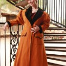 Womans Carriage Coat Duster Cowboy Western Style Victorian Jacket