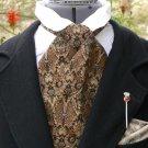 Mens Victorian Cravat Cowboy Tie Brocade Steampunk