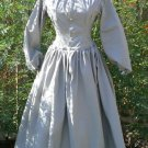 Civil War Camp Work Dress Prairie Cotton LARP Custom