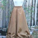 Victorian Taffeta Gored Skirt Gothic Steampunk Bustle