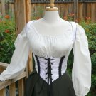 Underbust Renaissance Pirate Wench Bodice Sexy Style Boned