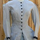 Bustle Dress Victorian Polonaise Gown LARP Long Walking Jacket