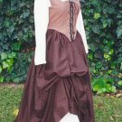 Renaissance Basic Cotton Skirt Drawstring