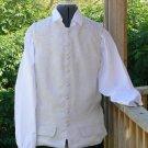 Pirate Vest Colonial Waistcoat Linen Renaissance LARP