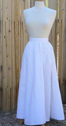 Cotton Petticoat Victorian Renaissance Cotton Underwear