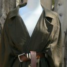 Wool Coat True Grit Movie Reproduction Mattie Ross Olive Coat