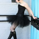 Black adult tutu skirt petticoat Medium
