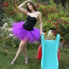 Purple adult dance tutu Small