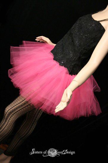Hot pink adult dance tutu Medium