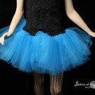 Blue adult dance tutu XSmall