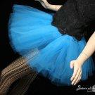 Blue adult dance tutu Large