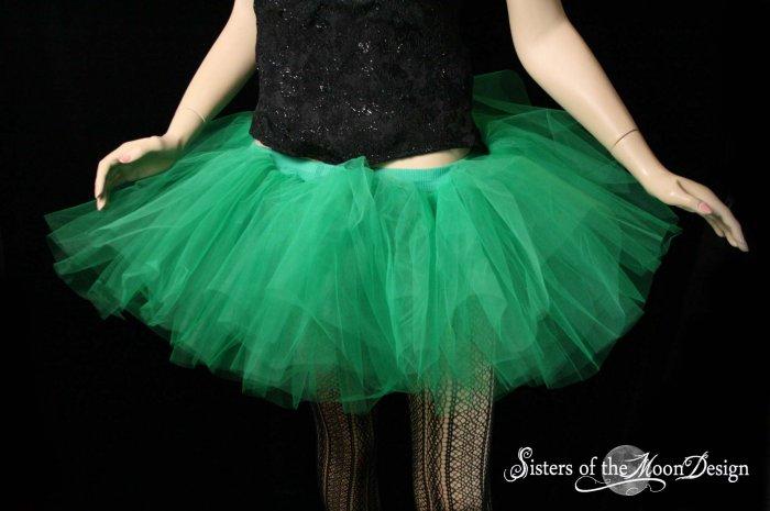 Green adult dance tutu XLarge