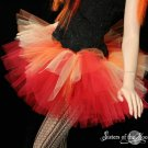 Flame dancer adult dance tutu Large