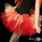 Flame dancer adult dance tutu XLarge Plus