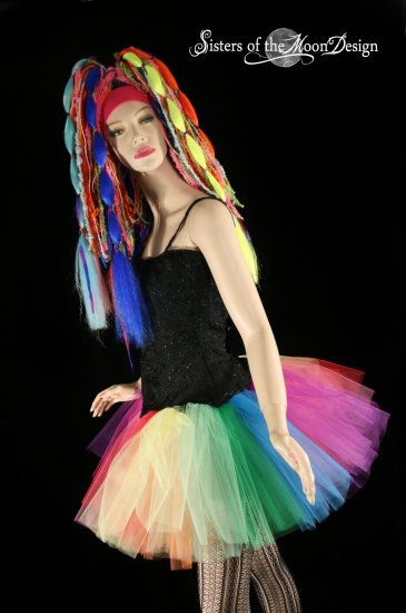 over the rainbow adult dance tutu Medium
