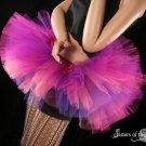 Cheshire cat inspired Peek a boo tutu skirt Adult Large