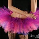 Cheshire cat inspired Peek a boo tutu skirt Adult Medium